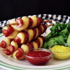 A genius twist on a hot dog. Más