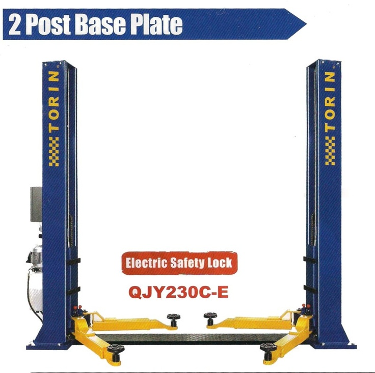 3 TON 3000 kg Two 2 post Hydraulic Vehicle Car Hoist Lift
