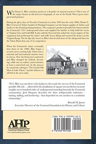 Lumber Baron of the Comstock Lode: The Life and Times of Duane L. Bliss