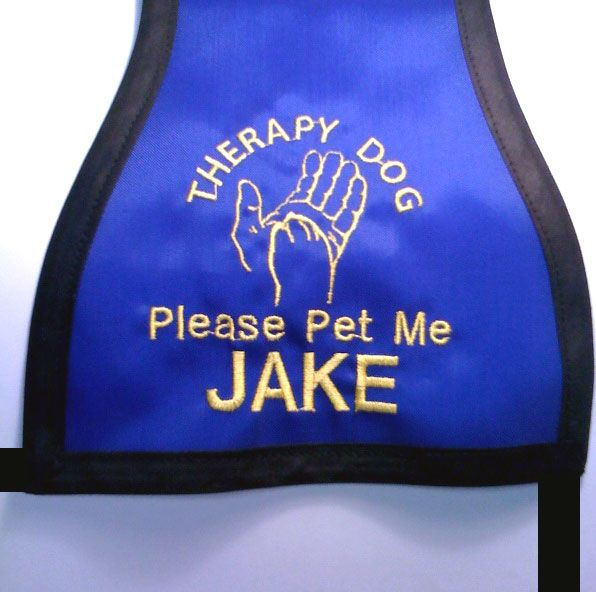 Therapy Dog Vest - Hand & Paw - $24.95 : Bark And Stuff, Dog Coats and Snowsuits for dogs