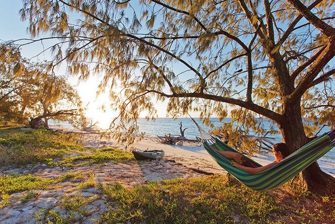 South Barrier Reef camping