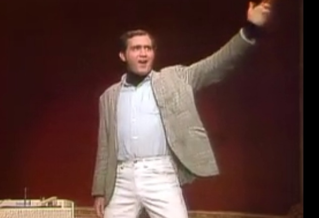 Andy Kaufman lip synching the Mighty Mouse song. I remember watching this when it was originally one!