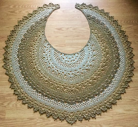 Crescent Moon Shawl Free Crochet Pattern : 17 Best ideas about Crescent Shawl on Pinterest Shawl ...