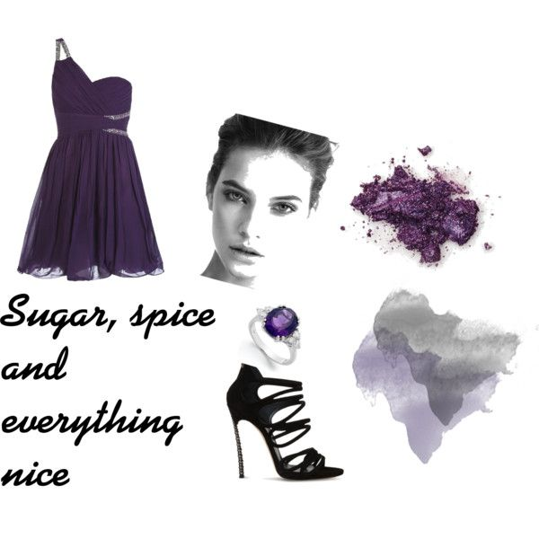 """Sugar, spice and everything nice"" by tactica on Polyvore"