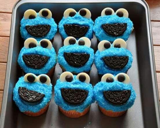 Cookie monster luv it