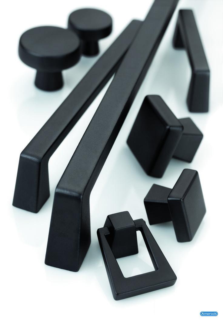 @Amerock - Lodge - Blackrock Knobs and Pulls #CabinetJewelry