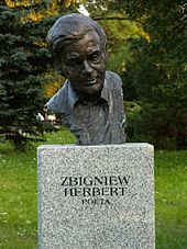 http://pl.wikipedia.org/wiki/Zbigniew_Herbert