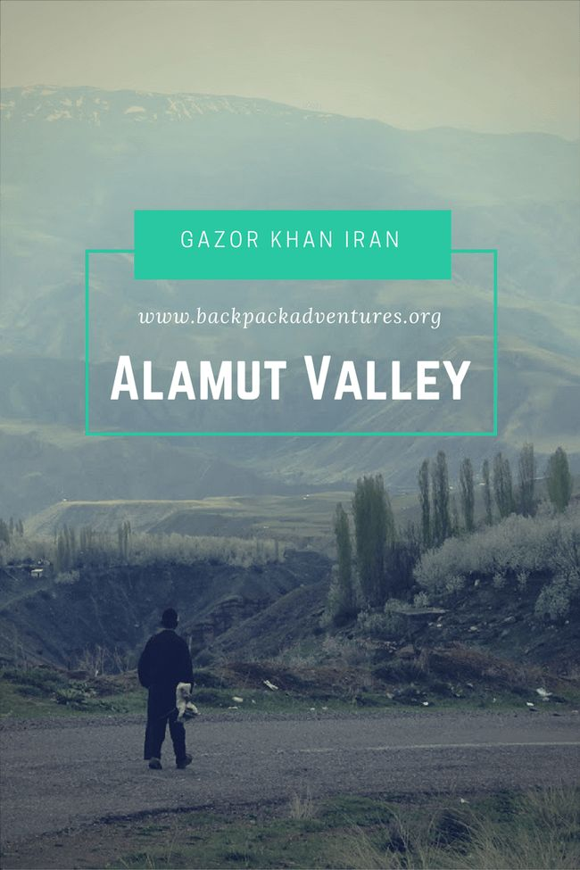 Iran - My experiences visiting the cherry blossom village of Gazor Khan and the Alamut castle in the beautiful Alamut valley in Iran.