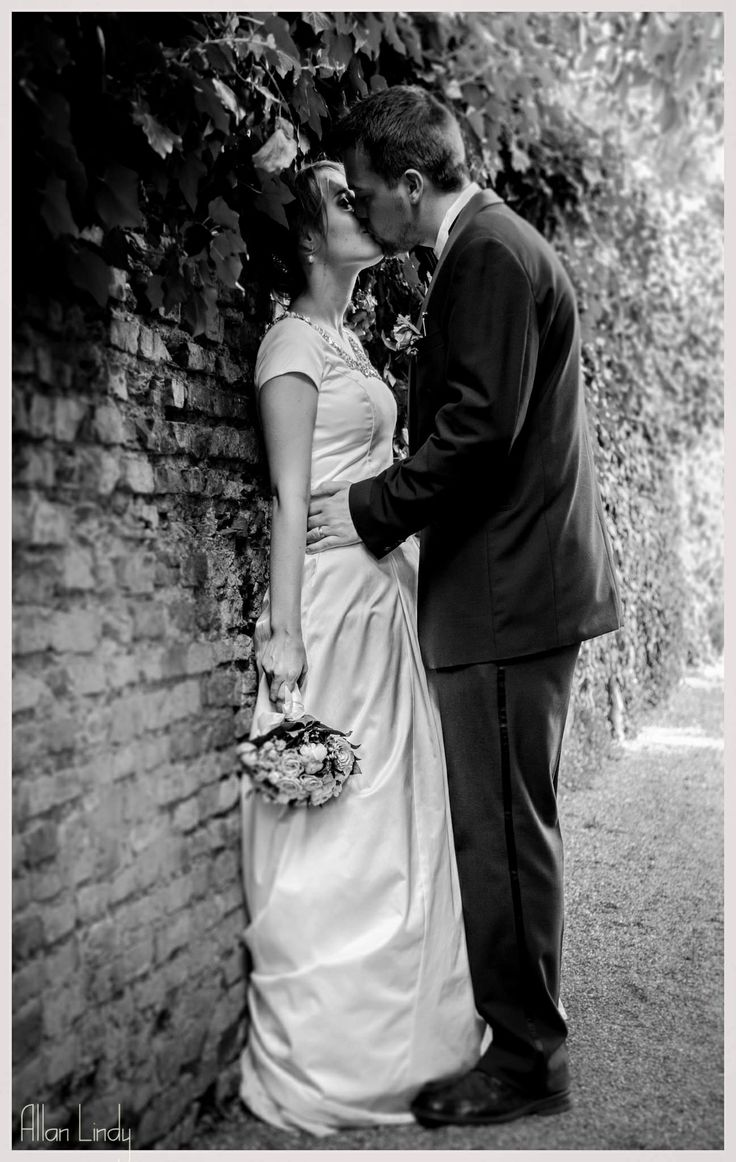 Capturing the moment by Photographer Allan Lindy. Wedding Dress by Ane Marie Kofod
