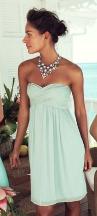 Dusty Shale Bridesmaids Dress from J. Crew