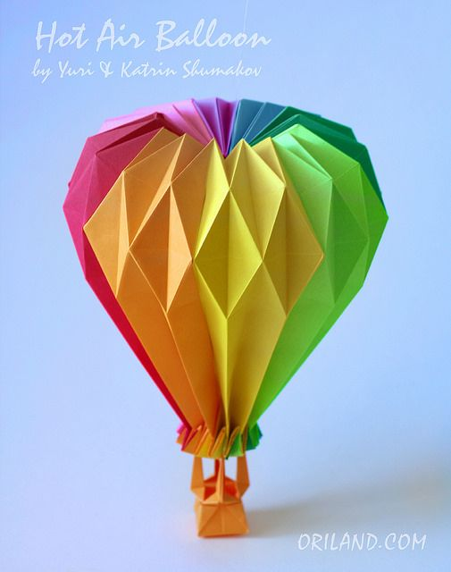 25 best ideas about origami balloon on pinterest