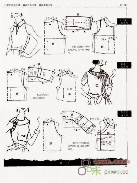 Arkadaşlar model uygulamalı bluz kalıbı örneklerini iyice inceleyin yararı olur:):)                                              ...