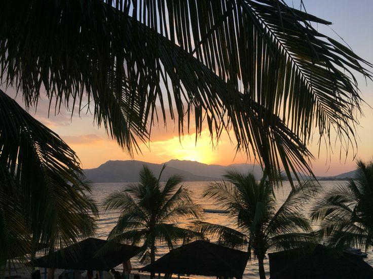 Sunset at Subic Bay, Olongapo City, Philippines