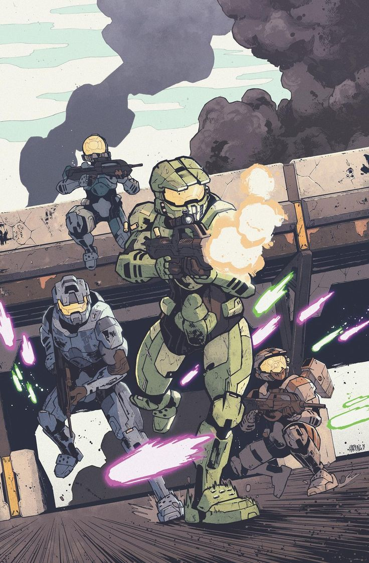 Master Chief Stars in Halo: Collateral Damage from Dark Horse in June