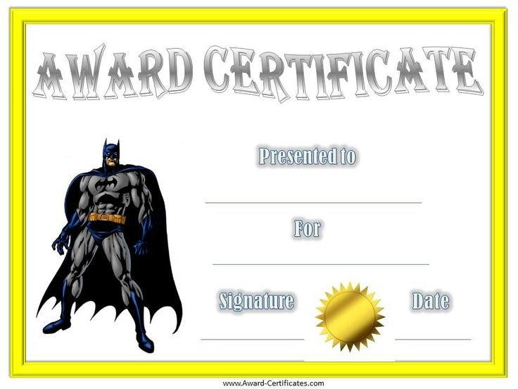 14 best Certificates images on Pinterest | Award certificates, Free ...
