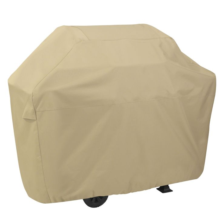 Classic Accessories Terrazzo Gas Grill Cover (XX-Large), Beige (Polyester)