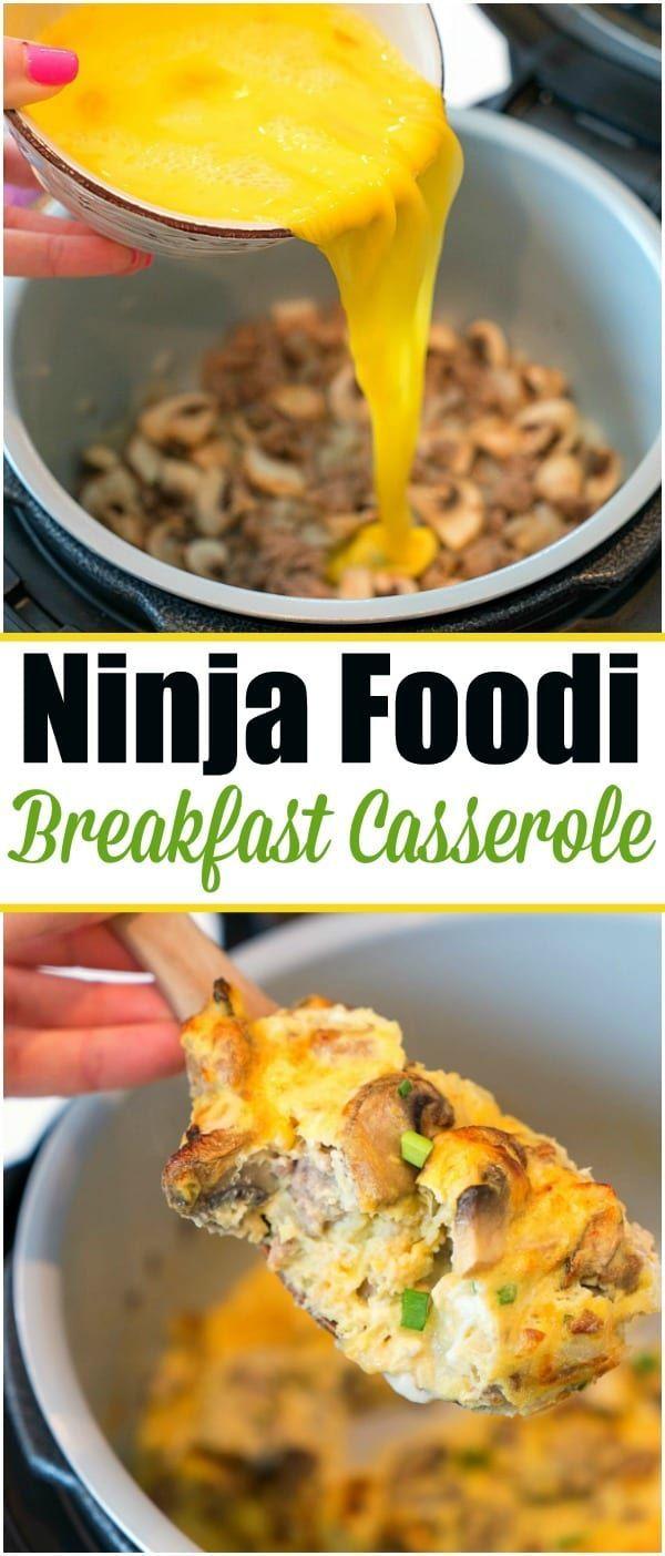 Ninja Foodi Frühstücksomelett ist da! Gefüllt mit Eiern, Käse und sogar gema…
