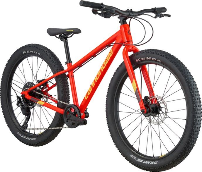Cannondale Cujo 24 Kids Mountain Bike Review Initial Upgrades