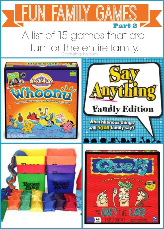Family Fun Night- Board Games! Some of the best recommendations and ideas #games