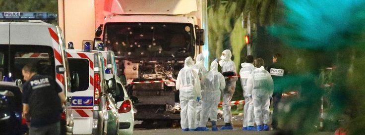 Anschlag in Nizza: Lastwagen rast in Menschenmenge - mindestens 84 Tote