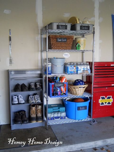 More Garage Organization