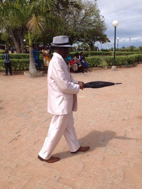 Hacia la boda. Jardim dos Namorados de Maputo