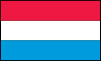 Banderas de Europa | Bandera de Luxemburgo