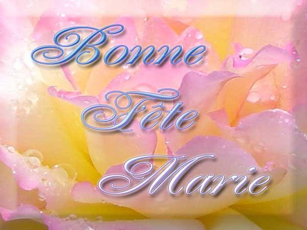 Bonne fête à toute les Marie - Et Bon Jeudi , 15 Août,Assomption ...