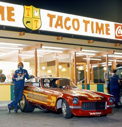 this was my time...American Graffiti was about 15 years before my time,however,many of the places were still there when they catered to my generation...this is a perfect example....