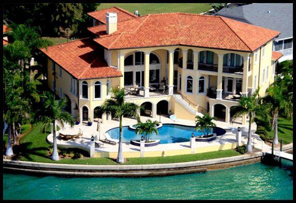 Tampa Bay Waterfront Homes Beautiful Homes Mansions