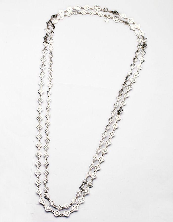 Ожерелья Новое Прибытие Цепи Моды 2014 Длинные Ожерелья Серебристый и Золотой PlatedPendant