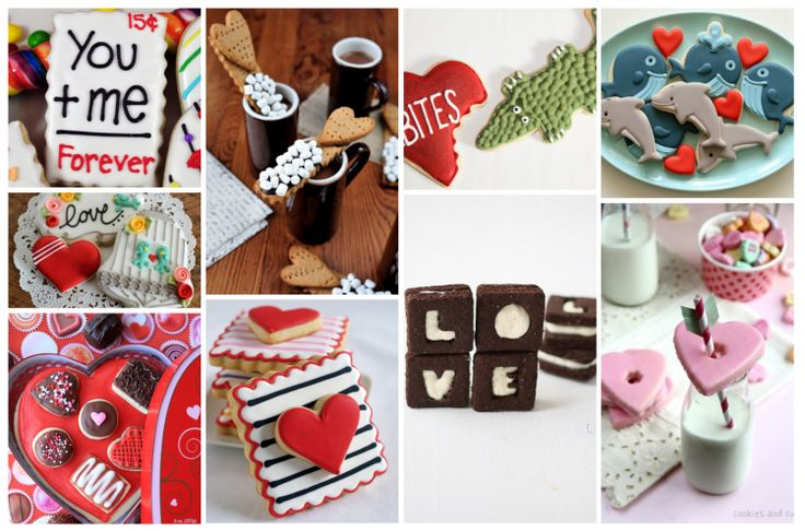 10 Incredible Valentines Day Cookies via @jeanabeena #valentinesday #dessert #recipe