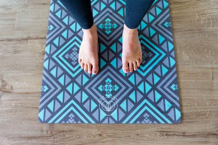 Geometric Yoga Mat Non-Slip