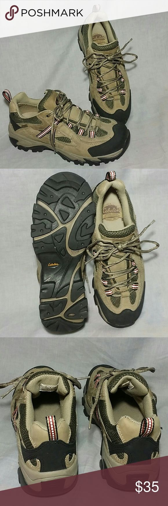 Cabela's GORE-TEX Hiking Shoes 8.5M Leather Women's Lace-ups item is in a good condition ( please check my bundle discount thanks for visiting ). Cabela's  Shoes Athletic Shoes