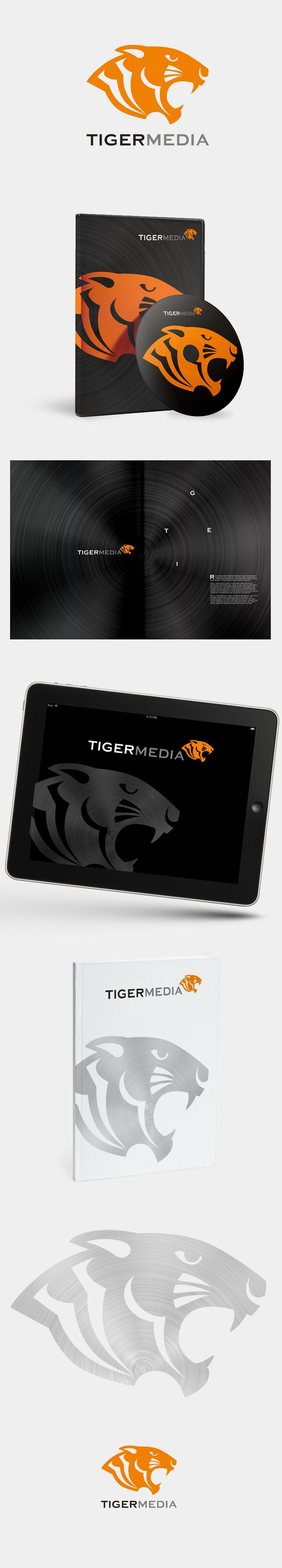 We just designed a brand new corporate identity for Tiger Media, hope you'll enjoy!