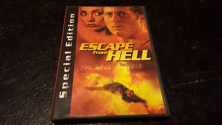 ESCAPE FROM HELL YOU WILL BELIEVE (2000) RARE SPECIAL EDITION DVD DANIEL KRUSE