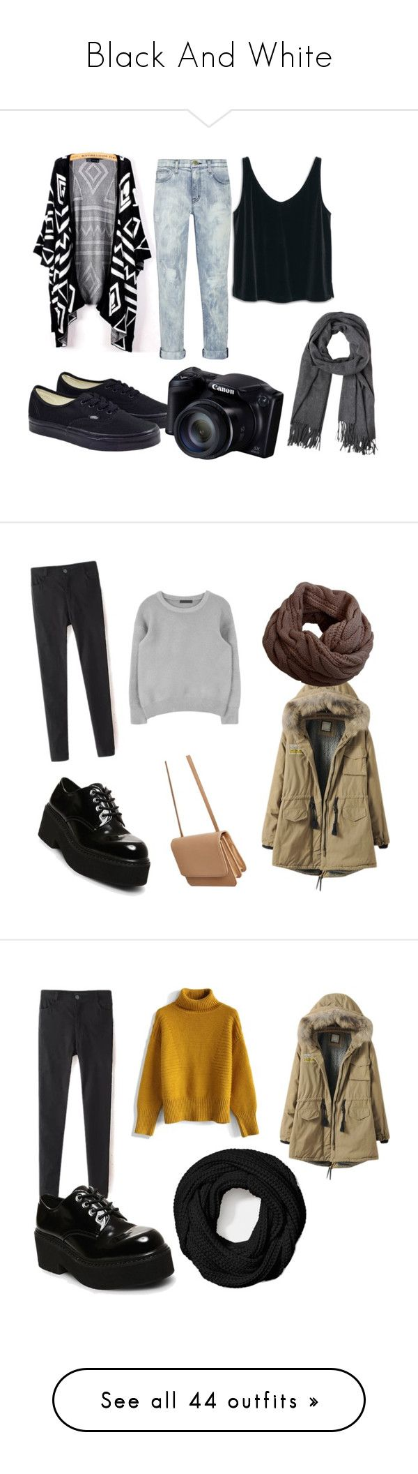 Black And White by caldenvazquez on Polyvore featuring polyvore moda style Current/Elliott MANGO Vans fashion clothing Steve Madden Silence + Noise Humble Chic Chicwish Coach Zara Iris & Ink MICHAEL Michael Kors Chanel Ray-Ban Glamorous Ted Baker H&M City Chic Dr. Martens Lucky Brand ABS by Allen Schwartz Tod's plus size clothing ljepota John Lewis Jil Sander Prada Smashbox ASOS Curve Victoria, Victoria Beckham Converse Stella & Dot WithChic Kate Spade Sigma Balmain Évocateur Joseph Kenzo…