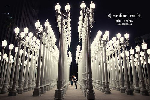 lights: Photo Ideas, Engagement Photos, Engagement Photo Los Angel, Lacma Engagement Photo, Engagement Session, Downtown Engagement Photo, Photo Inspiration, Los Angel Engagement Photo, Angel Downtown
