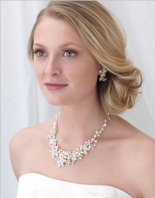 Affordable Elegance Bridal - Silver Freshwater Pearl and Rhinestone Wedding Jewelry Set , $88.98 (http://www.affordableelegancebridal.com/silver-freshwater-pearl-and-rhinestone-wedding-jewelry-set/)