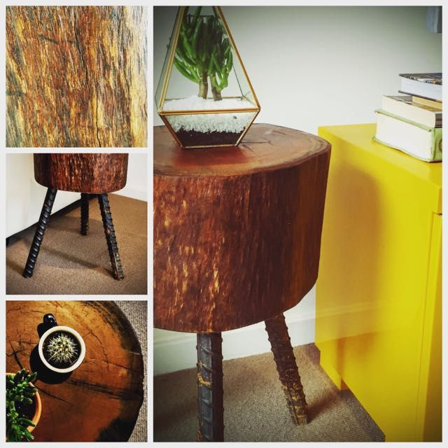 Tree Trunk Side Table ! 🌳 on Carousell