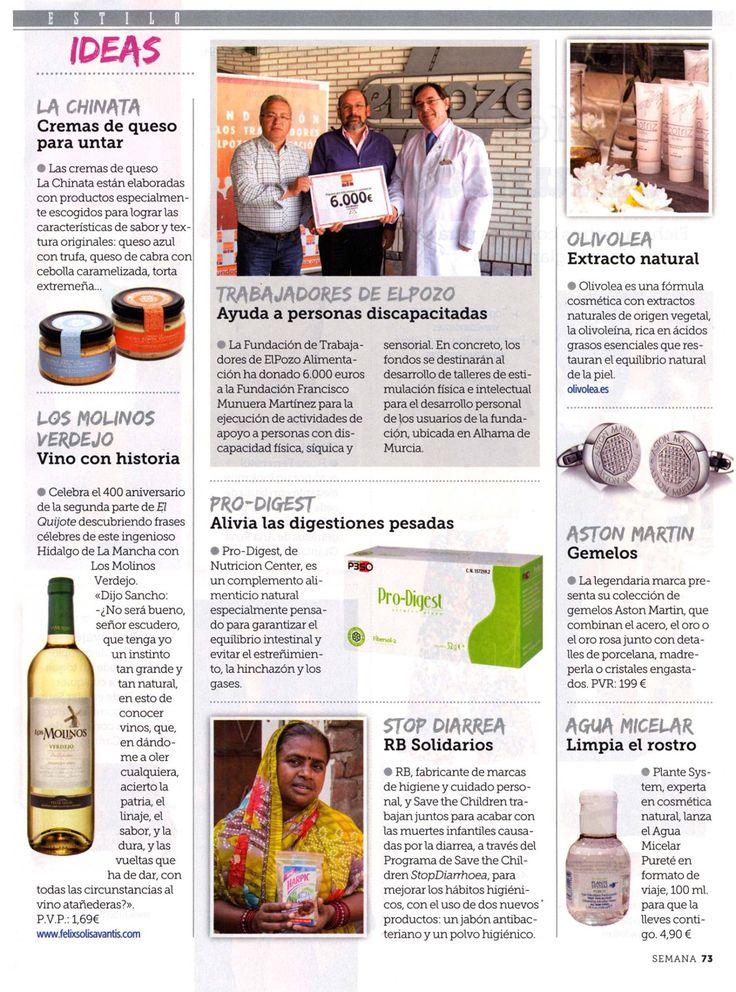 La Revista Semana habla de #Olivolea en su sección de Estilo y Lifestyle.