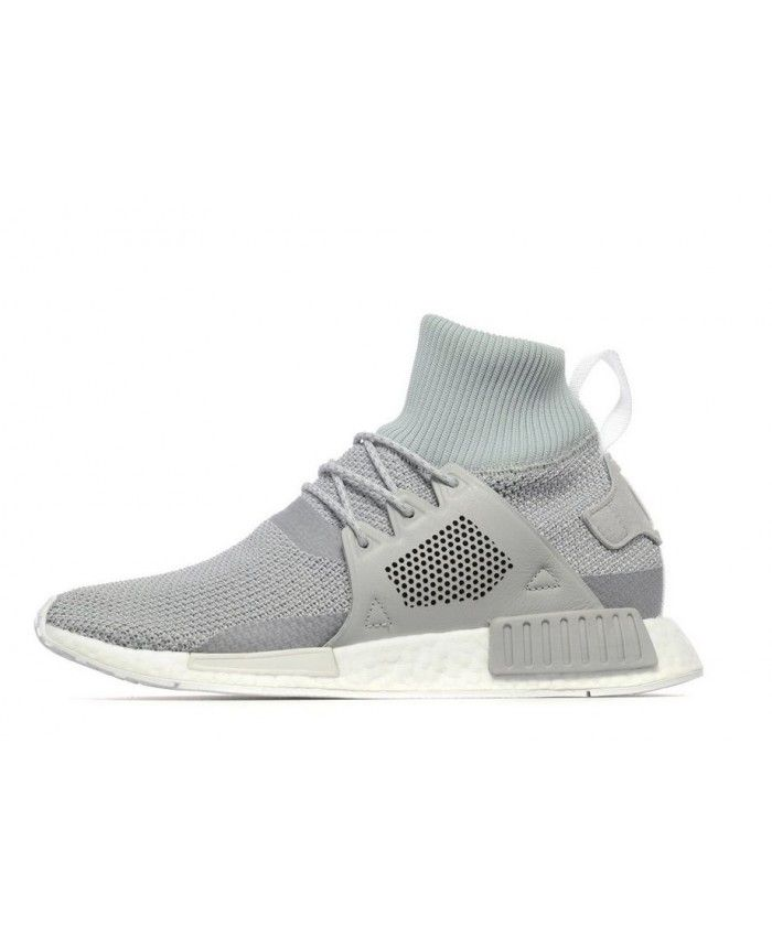 803b0a5f7 Adidas NMD XR1 Winter Grey White Shoes UK