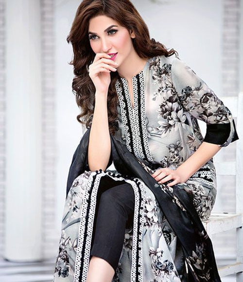 Gul Ahmed Embroiderd Soya Silk Collection 2016 SY_2