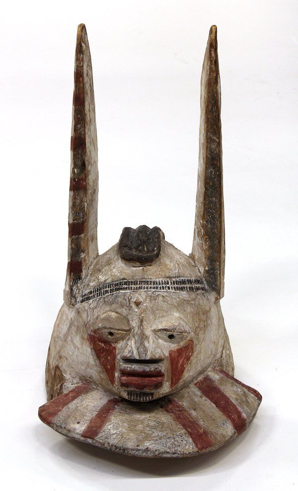 692 Yoruba Rabbit Mask on 36 best