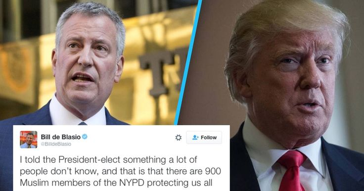 The NYC mayor dropped a major truth bomb on Trump during their Wednesday meeting.