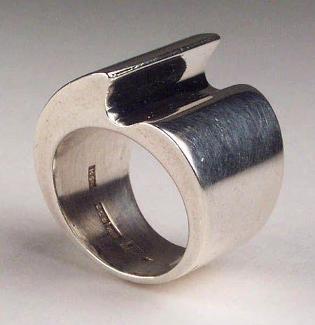 Kaunis Koru, vintage silver ring. #Finland