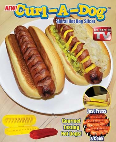 Curl A Dog™ Spiral Hot Dog Slicer