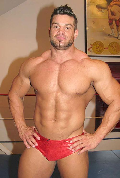 "Muscle Men Wrestling Porn - jakeslammer: Brian Cage Making His Supp"" Money For a Certain Video Tape  Company."