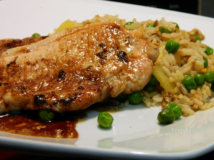 Pork Chops With Pineapple Fried Rice Recipes — Dishmaps