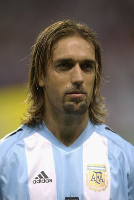 SAPPORO - JUNE 7:  Portrait of Gabriel Batistuta of Argentina before the FIFA World Cup Finals 2002 Group F match between England and Argent...